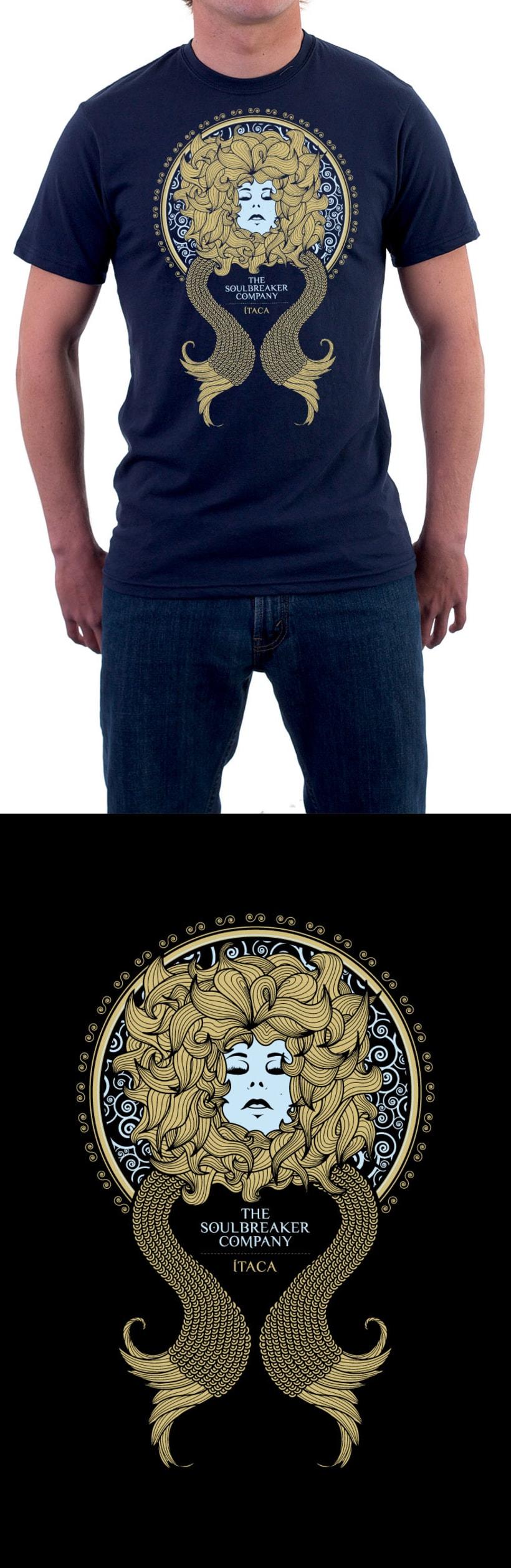 Camiseta The Soulbreaker Company 1