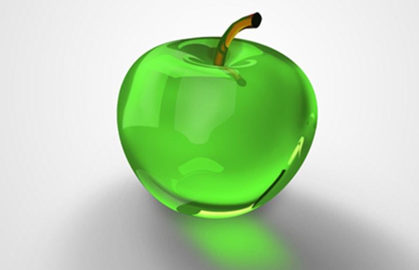 Frutas materiales texturas formas domestika for Frutas de cristal