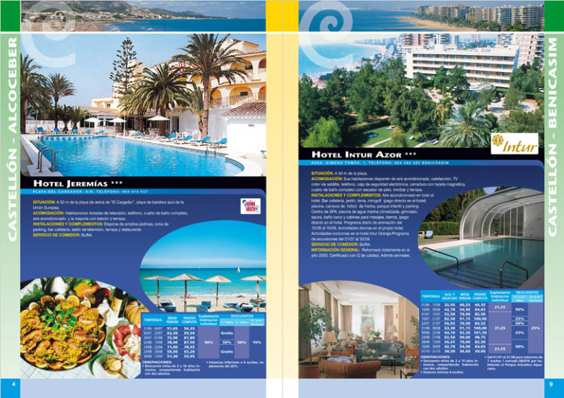 Dise o maquetaci n p ginas de folletos tur sticos for Paginas web sobre turismo