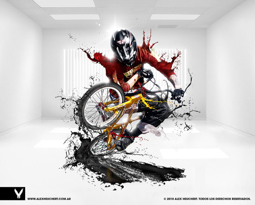 BMX Freestyle art 1