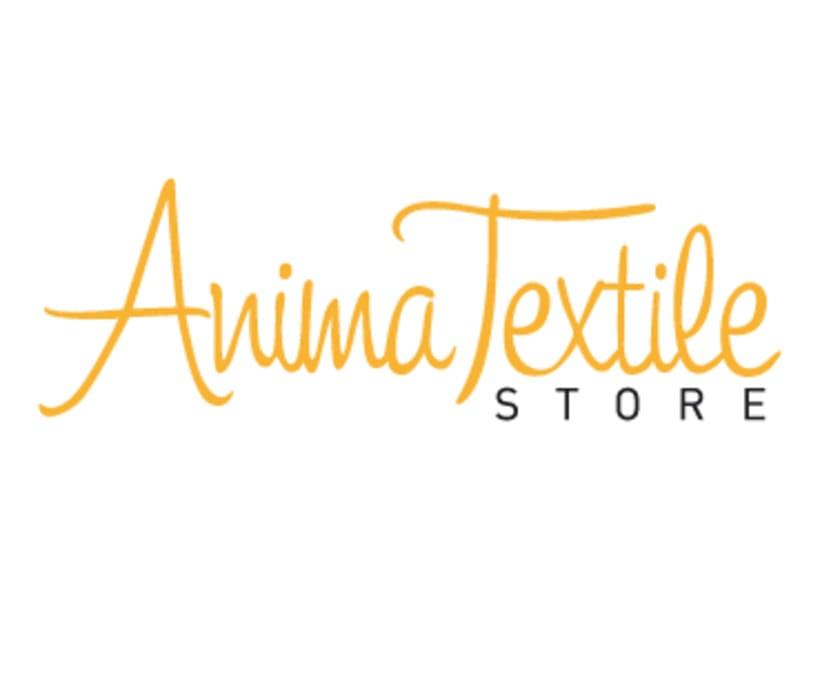Diseño logotipo y web Anima Textile Store 1