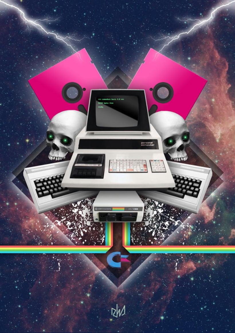 Commodore & Skulls 1