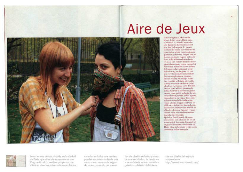 Merci Qui, magazine 3