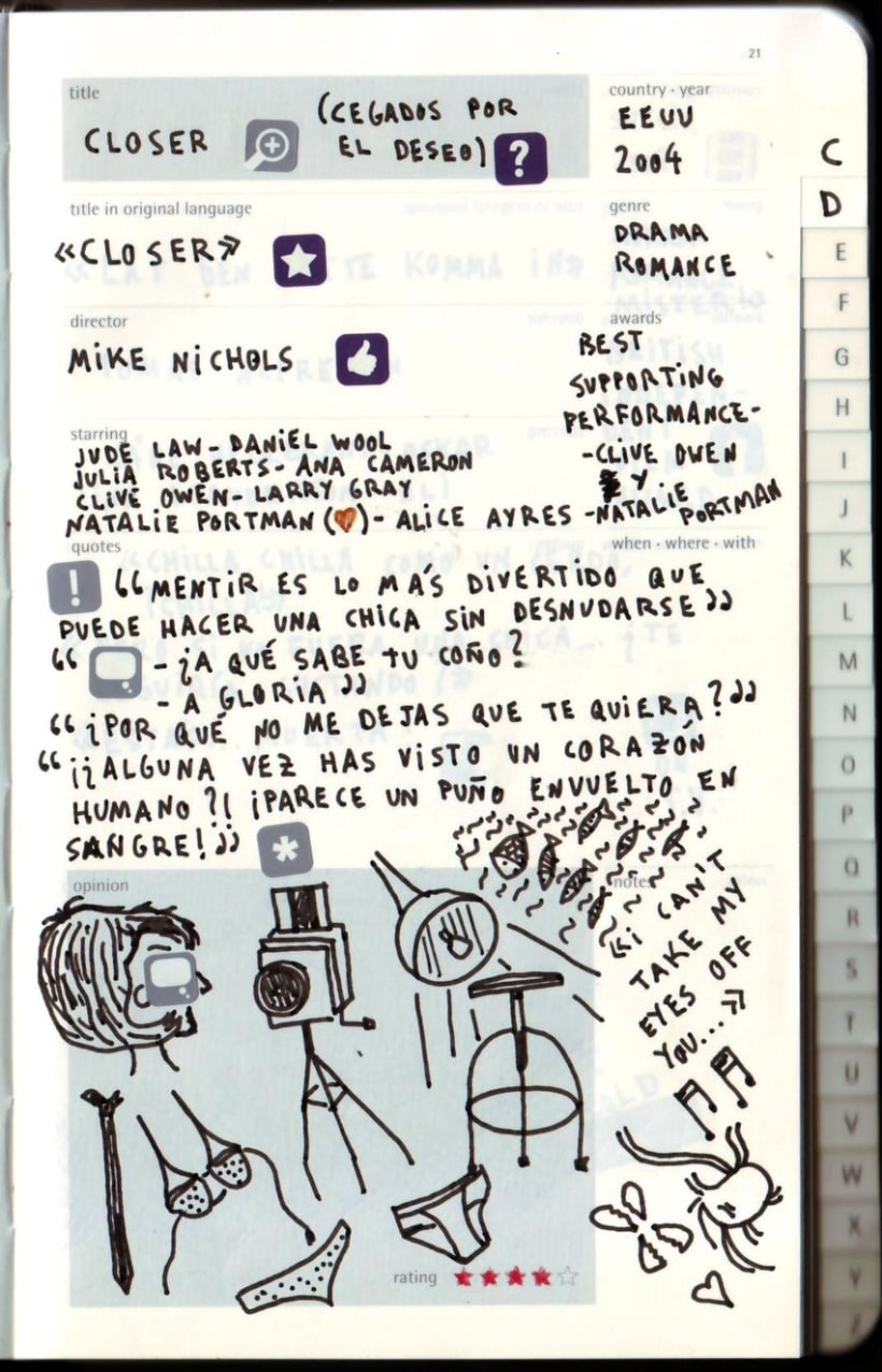 Moleskine Film Journal 23