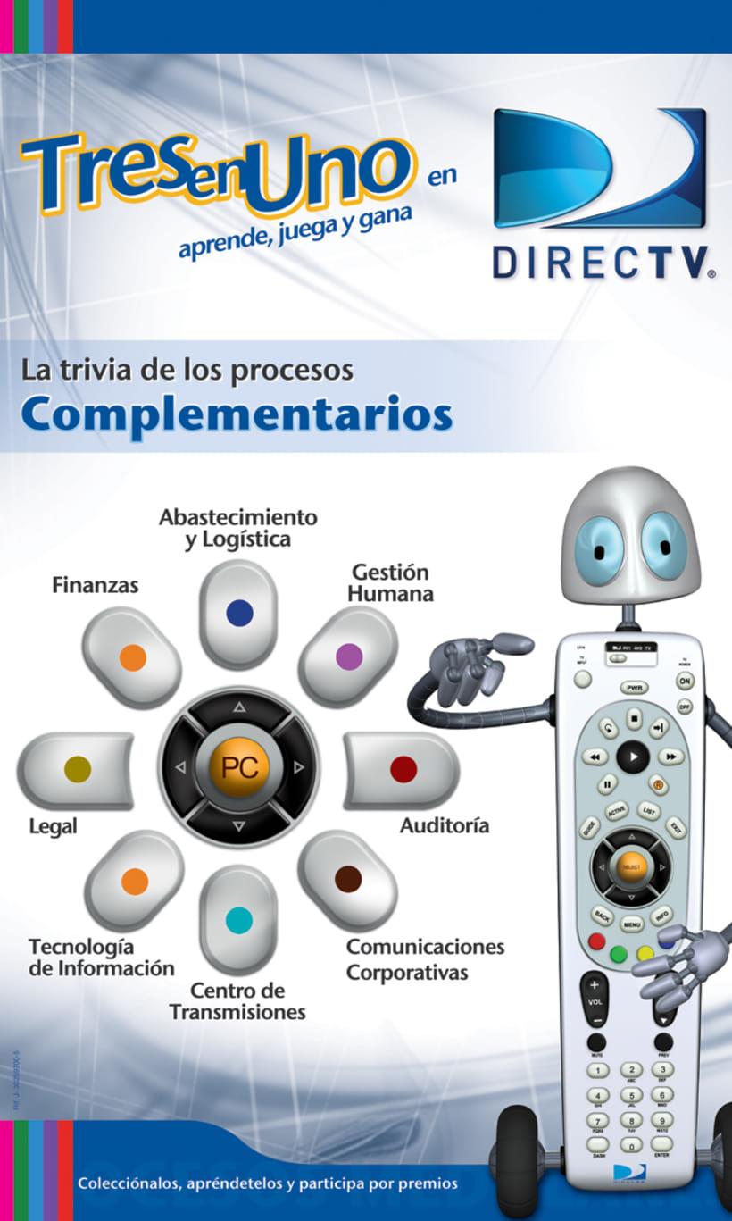 DIRECTV Campaña Interna / Juego Interactivo 8
