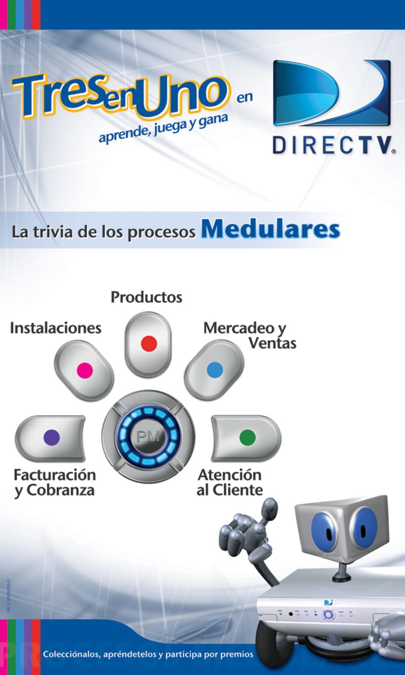 DIRECTV Campaña Interna / Juego Interactivo 7