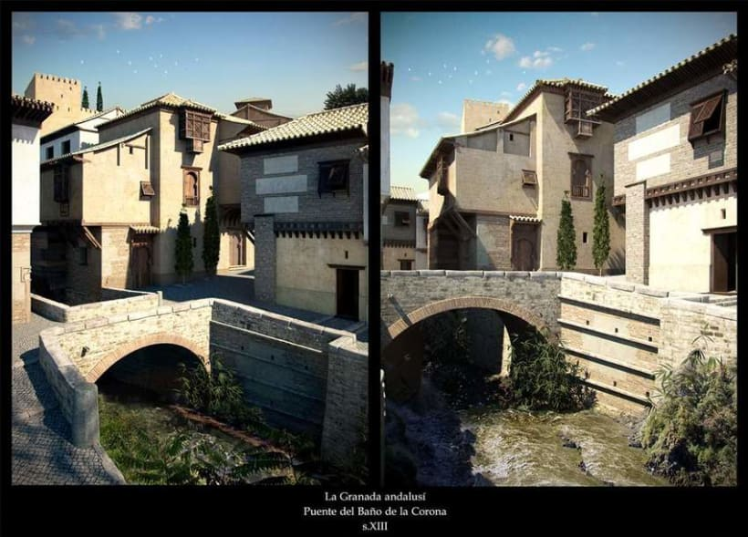 Infografia artistica Alhambra 1