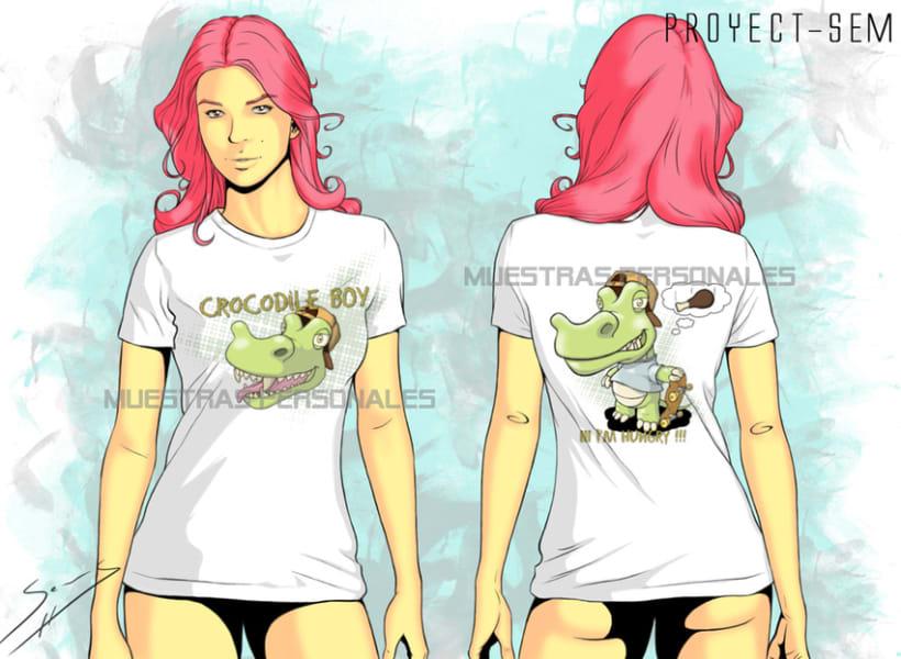Diseño de camisetas. 1