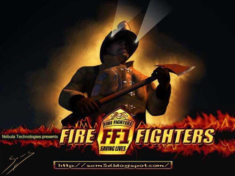 FIRE FIGHTERS, El coloso en llamas a la española. 1