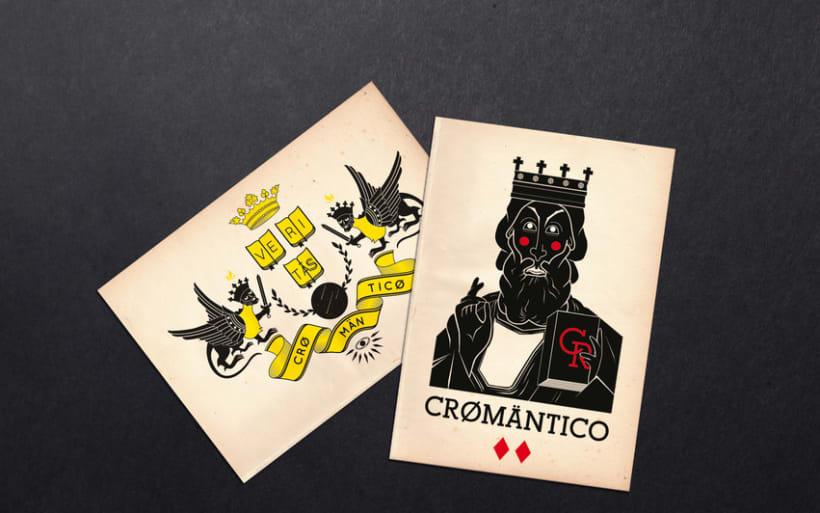 Camisetas Cromantico 1