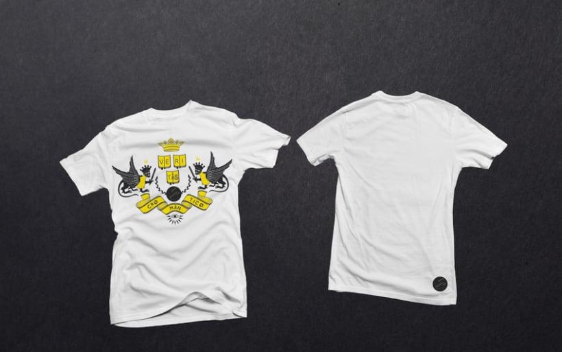 Camisetas Cromantico 2