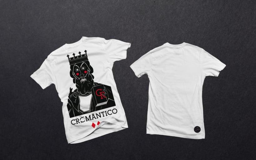 Camisetas Cromantico 3