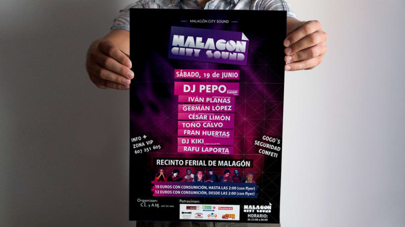 Malagón City Sound 1