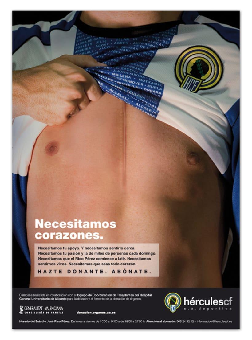 Campaña abonos Hércules CF 2008 2
