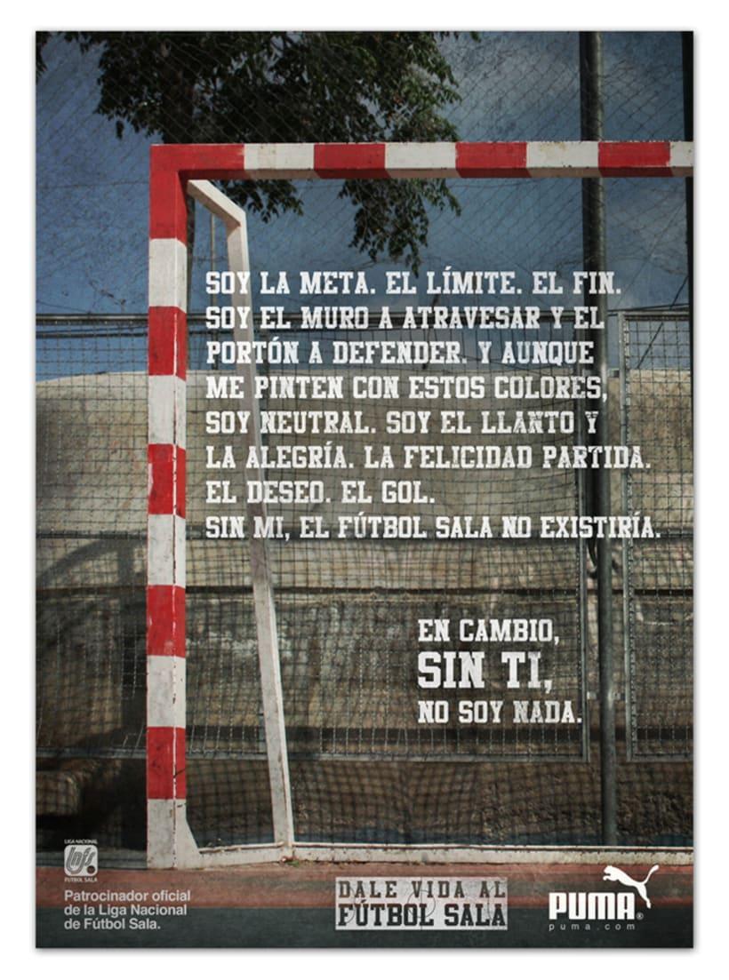 Campaña Puma Fútbol Sala 1
