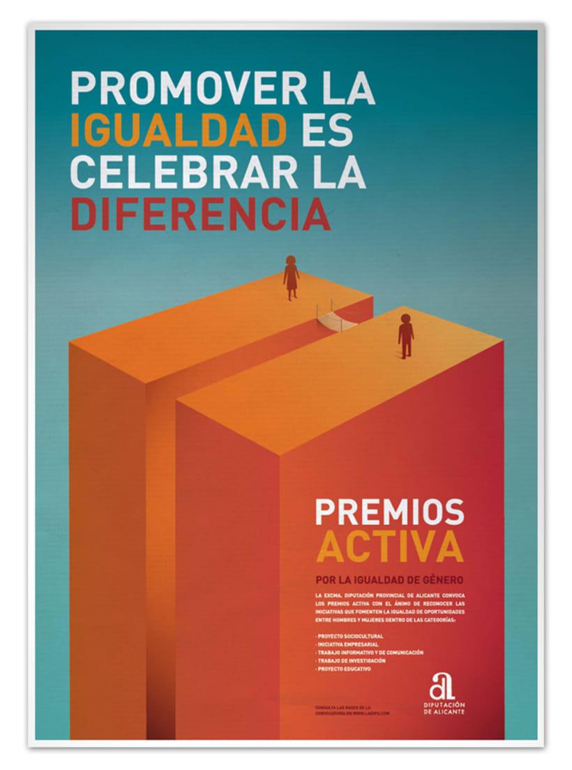 Cartel Premios Activa 1