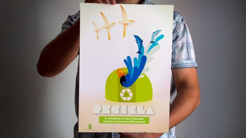 "Campaña ""Recicla"" 2"