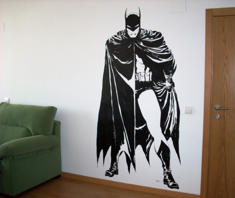 Pintura mural en fachadas, cierres e interiores 1