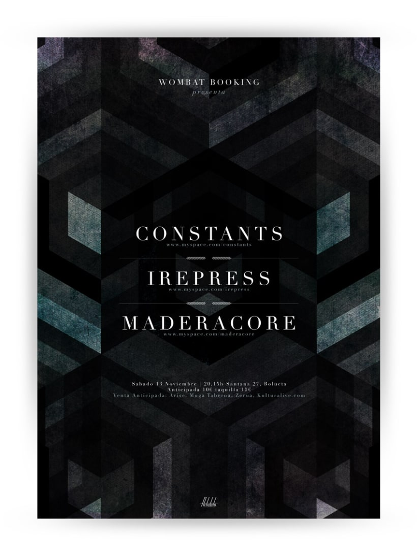 Cartel Constants + Irepress 1