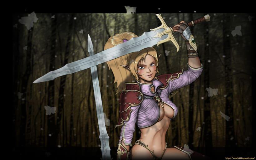 Blade Dancer. Dual sword. 2