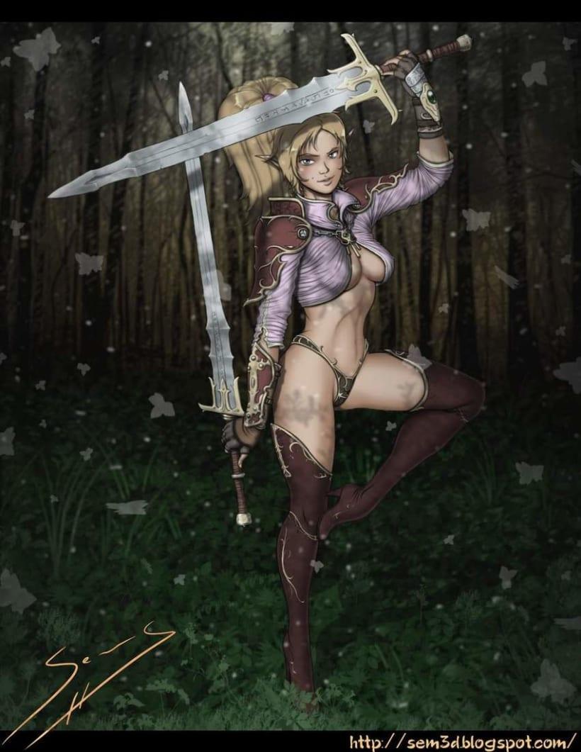 Blade Dancer. Dual sword. 1