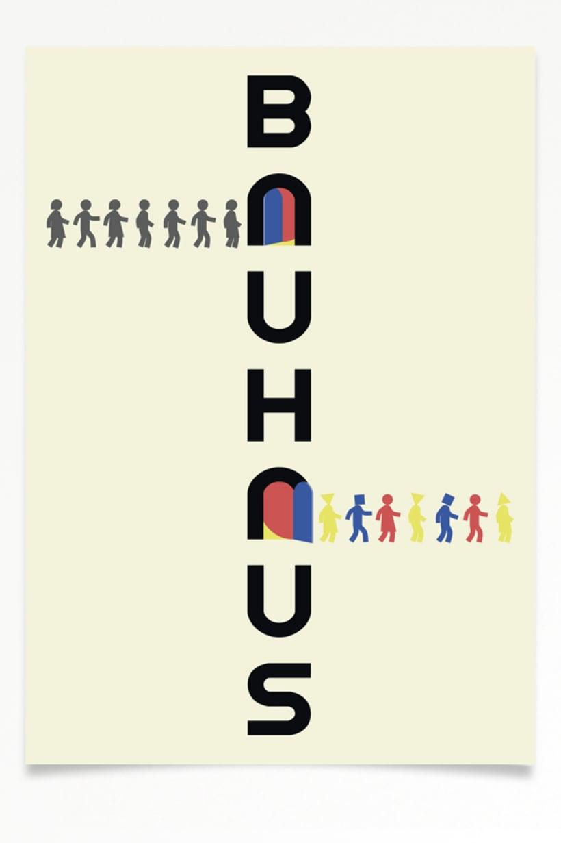 Cartel Bauhaus 1. 2