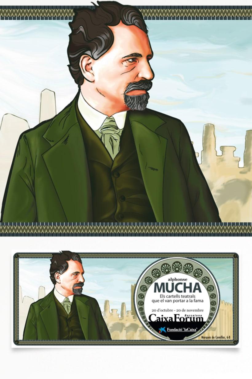 Exposición A. Mucha. 2