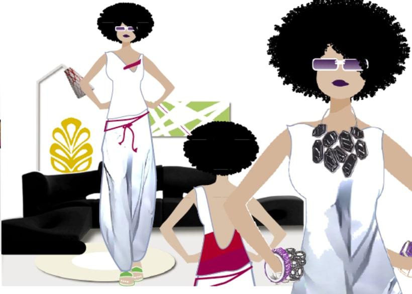 Ilustraciones moda 1