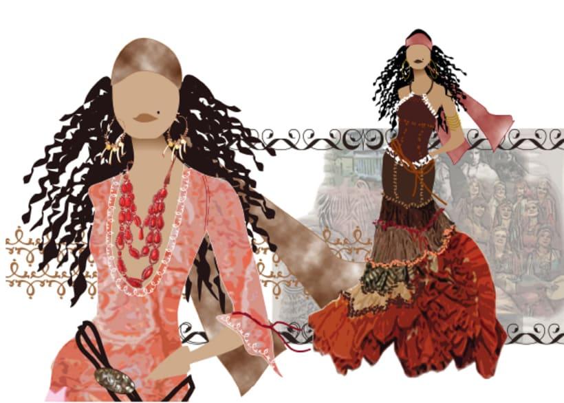 Ilustraciones moda 4
