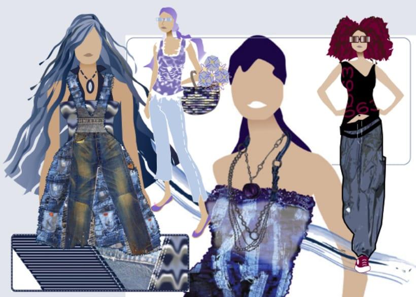 Ilustraciones moda 2