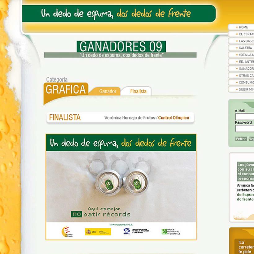 Finalista Concurso Cerveceros de España 2009 1