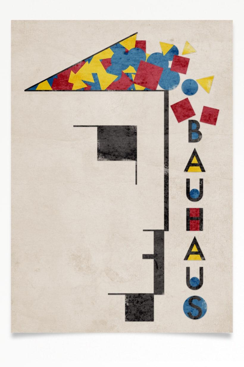 Cartel Bauhaus 2. 2
