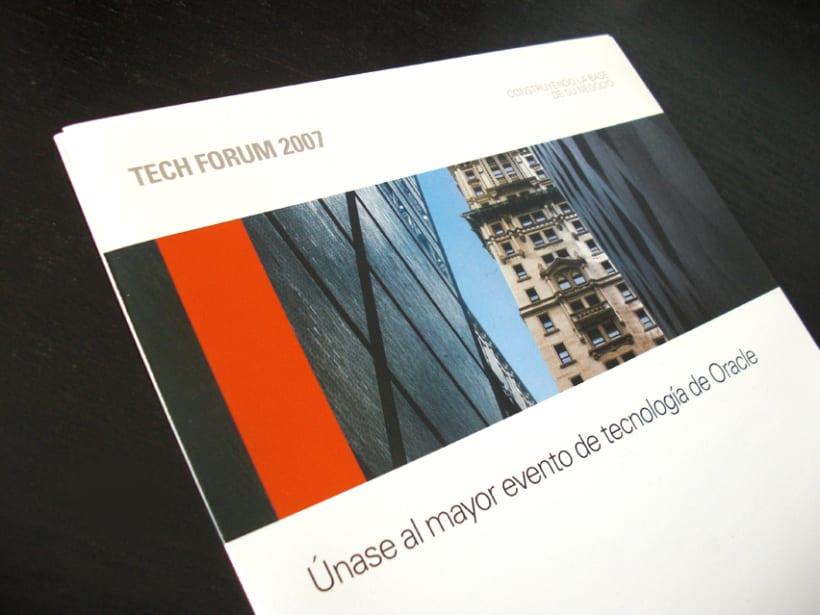 Oracle: Tech Forum '07 2