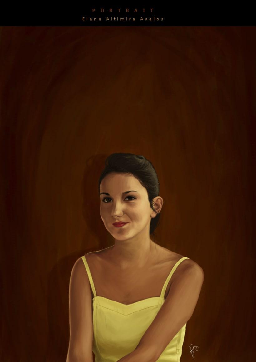 Retrato Elena 1