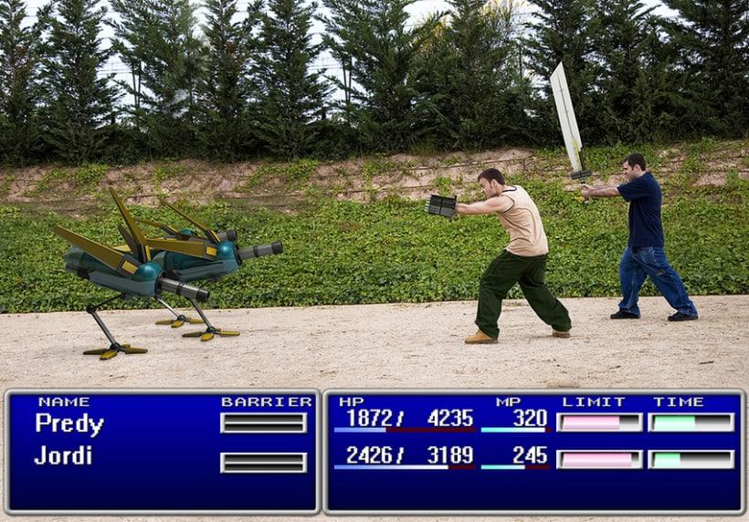 Final Fantasy VII proyect 1
