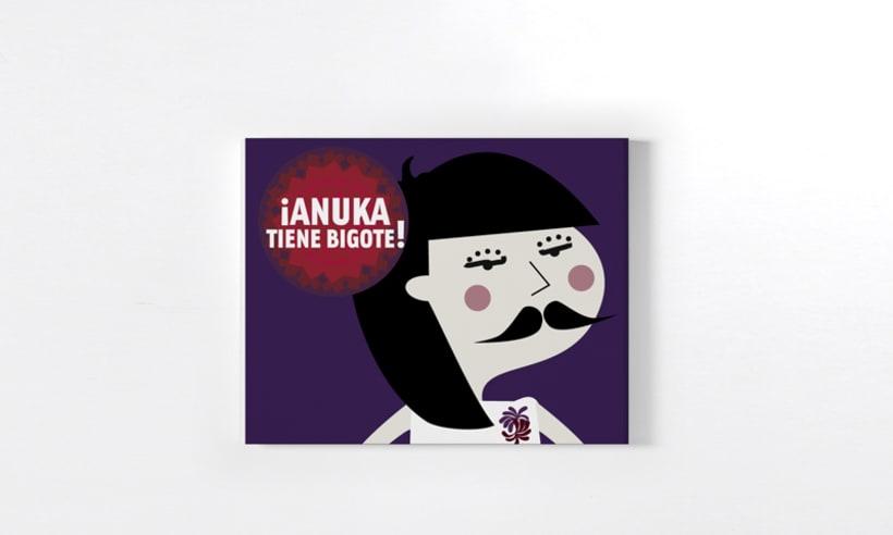 ¡Anuka tiene bigote! 1