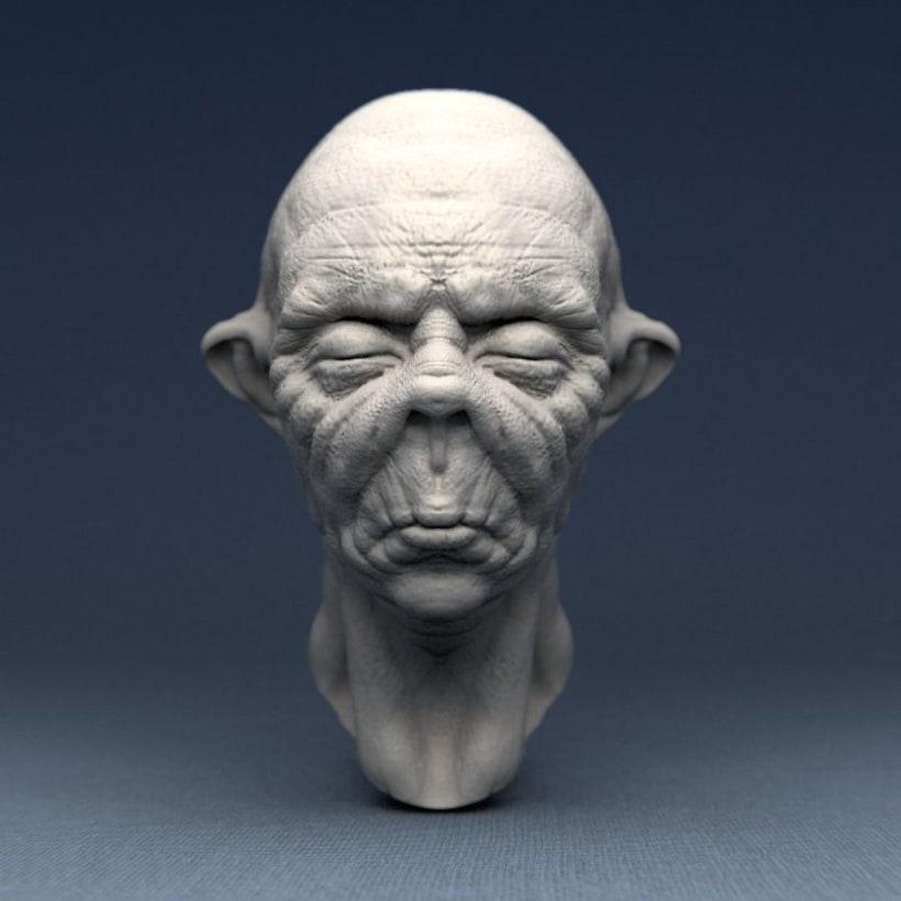 Monstruos y otras esculturas 13