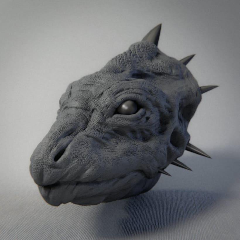 Monstruos y otras esculturas 12