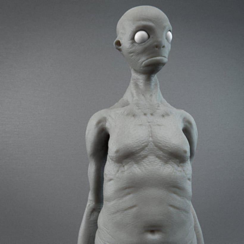 Monstruos y otras esculturas 8