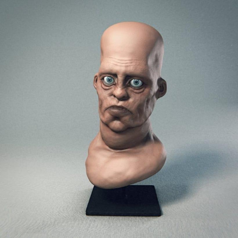 Monstruos y otras esculturas 3