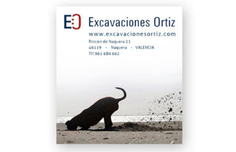 Excavaciones Ortiz, imagen corporativa 3