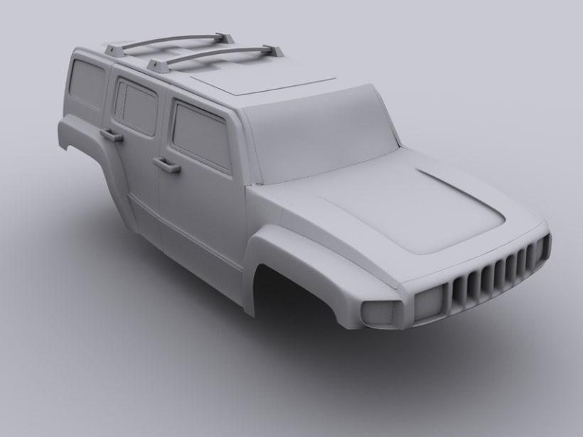 Hummer H3 4