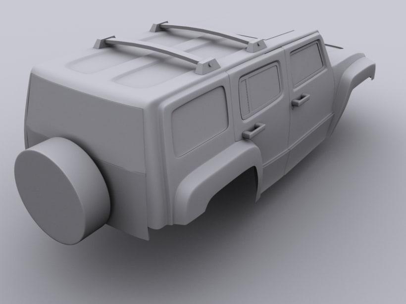 Hummer H3 5
