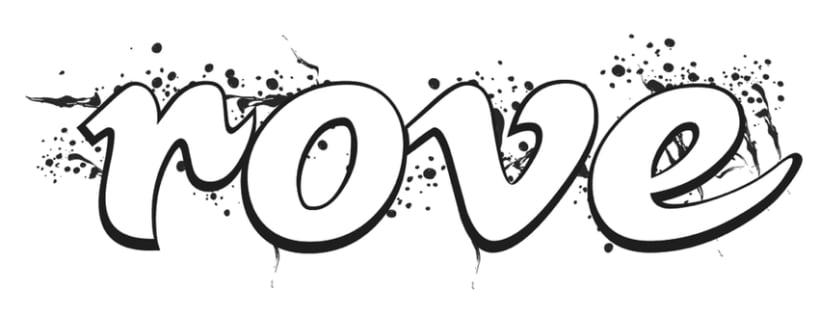 [rove] recreación del logotipo para camisetas  1