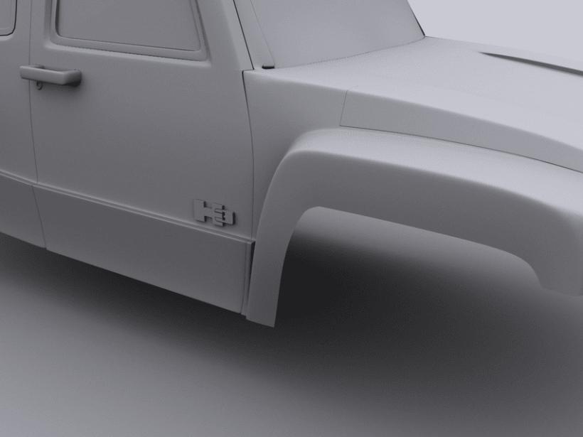 Hummer H3 6