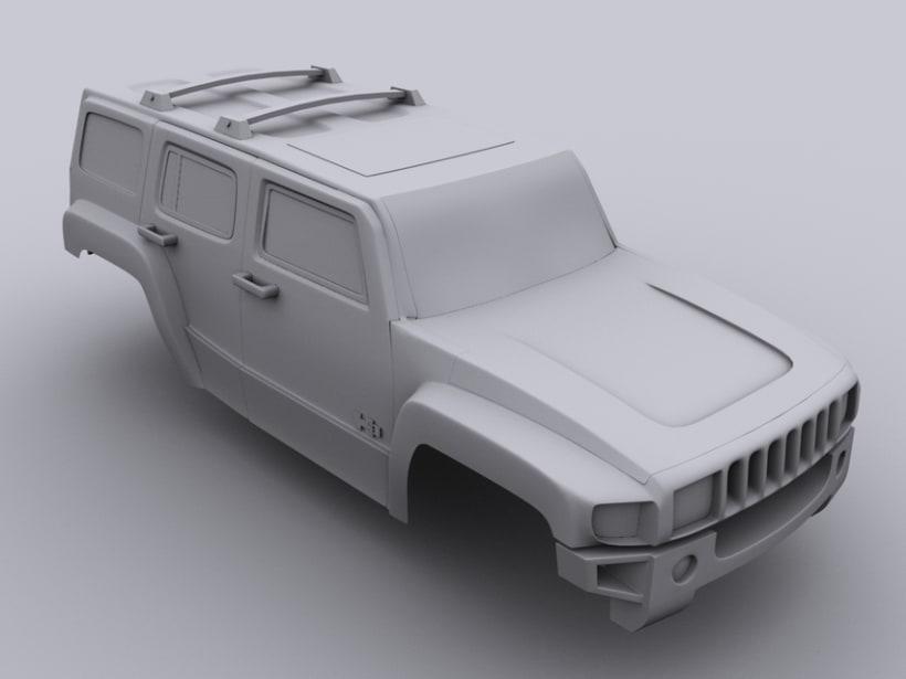 Hummer H3 3