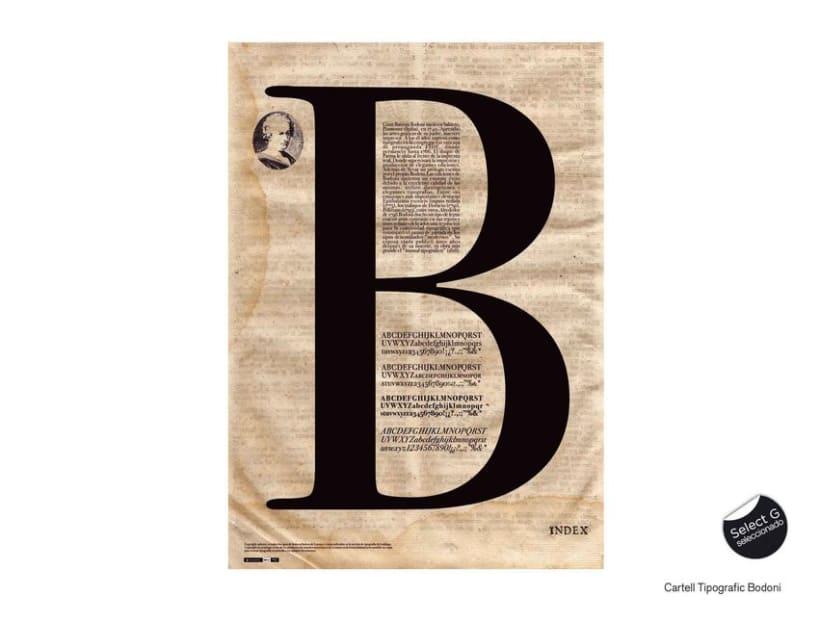 Tipografia Bodoni 1