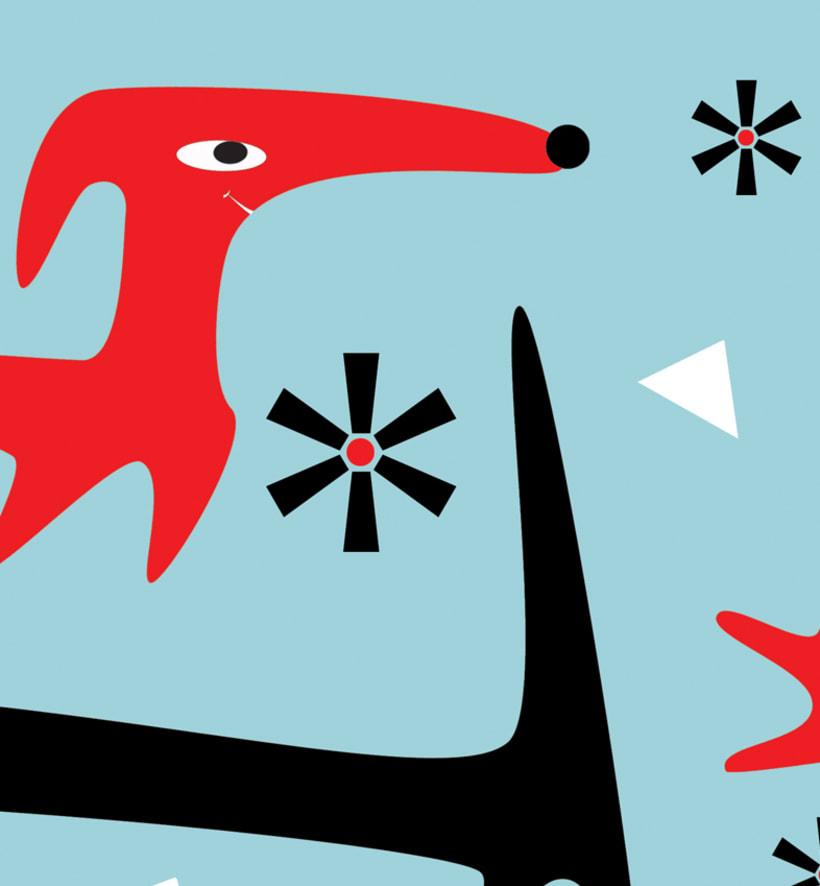 Ilustración vinilo, Mac, Ipad 9