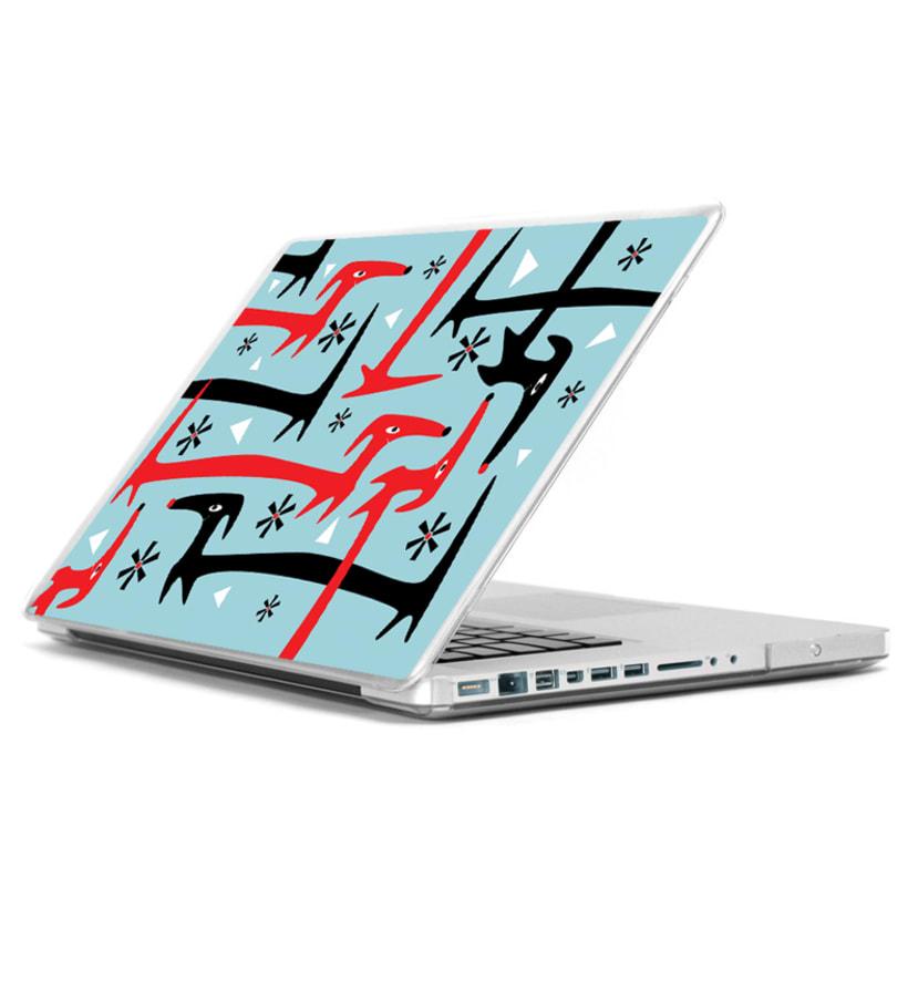 Ilustración vinilo, Mac, Ipad 8