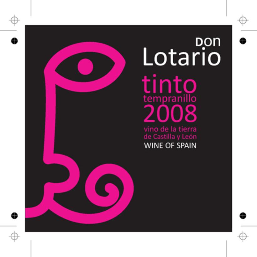 Don Lotario - etiquetas de vino 1